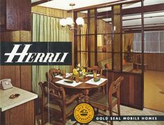 1970 Mobile Home by retro-space, via Flickr