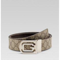 6044f728c435 Gucci Reversible Belt With Cutout G Buckle 232833 Sale Replica Handbags