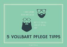 Vollbart Pflege: 5 Tipps um deinen Vollbart zu zähmen.
