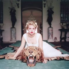 Beauty and the Beast | From a unique collection of figurative photography at…