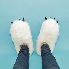 Slippers that heat up when you plug them into your USB port.