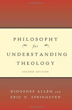 Philosophy for Understanding Theology, Second Edition by Diogenes Allen. $19.50. Author: Diogenes Allen. Publisher: Westminster John Knox Press; 2 edition (October 17, 2007)