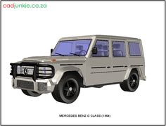 Vehicle: Mercedes Benz G Class - 1964 Autocad, Merc G Class, 4x4, Mercedes Benz G Class, 3d Mesh, Cad Blocks, The Unit, Type, Vehicles