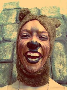 Maquillaje y Caracterización teatral 1 - Oso Theatrical Makeup and Characterization 1 - Bear