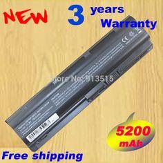 7800mAh Long Life Notebook Laptop Battery for HP MU06 MU09 SPARE 593554-001 593553-001 C 9cell