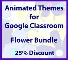 Animated Google Classroom Headers (Flower Bundle) - Distance Learning Google Classroom, Classroom Ideas, Online Classroom, Free Education, Headers, Animation, Distance, Learning, Educational Technology