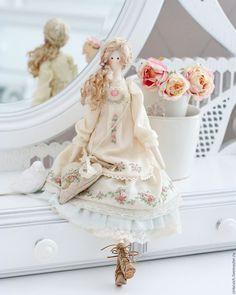 Купить Мариэль - тильда, кукла, кукла ручной работы, кукла в подарок, кукла интерьерная