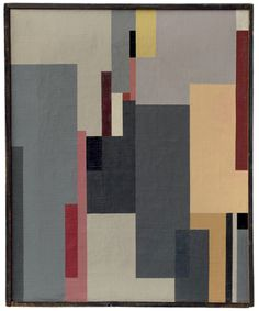 Walter Dexel, Composition 1923 IV.