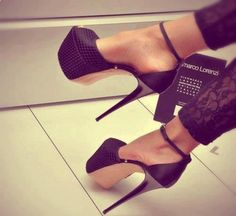 sky-high gianmarco lorenzis - the skinny heels are just perfect.