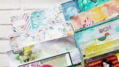 5 Ways to Use Gesso at Big Picture Classes #BPC #bigpictureclasses #DIY #MixedMedia