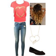 """Love is gold"" by missbri2000 on Polyvore"