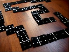 Homemade Felt Dominoes tutorial  http://felting.craftgossip.com/2012/04/24/homemade-felt-dominoes-tutorial/