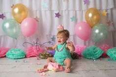 Sienna's Twinkle Little Star Smash Cake Photography Session with CT Smash Cake Photographer Elizabeth Frederick Photography 1st Birthday Pictures, 1st Birthday Girls, Birthday Ideas, Holiday Photography, Cake Photography, Photography Ideas, Cake Smash Pictures, First Birthday Photography, Smash Cake Girl
