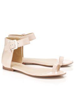 Powder Pink Leather Isabela Sandals | 3.1 Phillip Lim | Avenue32