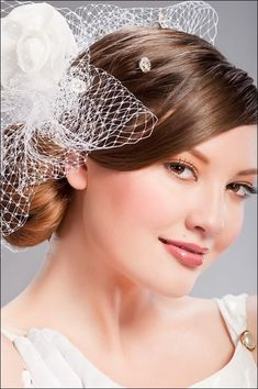 Classic-Inspired Wedding Hairstyle with Veil for Today Fashion-  The classic look of wedding hairstyle with veil is lovely and even till today there are many brides love wearing wedding hairstyle with veil. Sure, th...