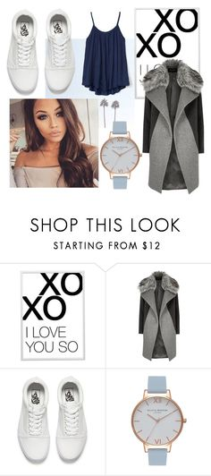 """Simple #1"" by saffiesky ❤ liked on Polyvore featuring xO Design, River Island, Vans, Olivia Burton, Gap, trend, women and polyvorecommunity"