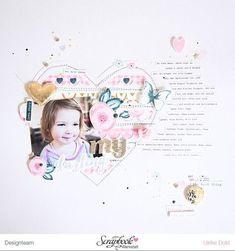 Pretty Little Studio – With All My Heart   think pink & mint   Bloglovin'
