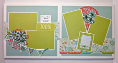 PJ's Corner: Blossom 8 Page Layout Workshop - Just in time for Mother's Day! Scrapbook Examples, Scrapbook Templates, Scrapbook Sketches, Scrapbook Page Layouts, Scrapbook Paper Crafts, Scrapbook Supplies, Project Life Scrapbook, Baby Scrapbook, Scrapbook Cards