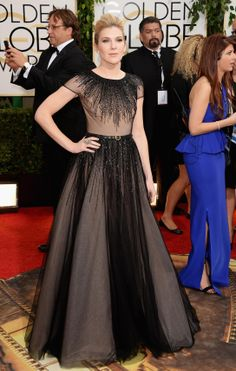 """Lily Rabe - """"American Horror Story"""" -  at the 2014 Golden Globe Awards"""