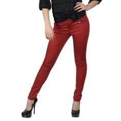 Hailey Jeans Co Juniors Tonal Leopard Print Skinny Pants $11.99
