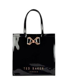 06c058f3575 TED BAKER Bowicoin Black Icon Tote Bag (162 875 LBP) ❤ liked on Polyvore