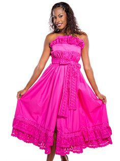 Robe Broderie FEMME créole, antillais Marcelle en vente sur la boutique Dodyshop spécialisée dans la vente de vêtements traditionnels créoles. Une collection unique inspirée des traditions