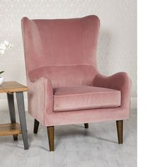 Wingback Chair, Armchair, Furniture, Design, Home Decor, Floral, Products, Stools, Living Room