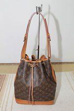 Authentic LOUIS VUITTON Monogram Noe shoulder bag handbag.   Christmas wish list.