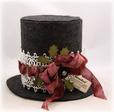 Stamp Talk with Tosh: Top Hat Gift Box and WMS Feature