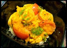 Forking Foodie: Prawn and Coconut Curry (includes Thermomix method. Coconut Prawns, Coconut Curry, Fish Recipes, Great Recipes, Low Calorie Recipes, Healthy Recipes, Clean Eating Recipes, Main Meals, Thermomix