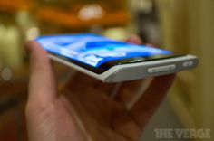 Samsung flexible OLED cell phone technology.