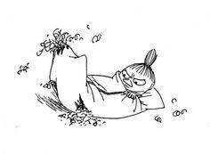... Little My Moomin, Moomin Wallpaper, 365 Jar, Moomin Valley, Tove Jansson, Disney Tattoos, Animal Drawings, Troll, I Tattoo