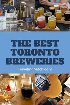 Over the years it has been a pleasure to watch the rise of independent Toronto breweries who have changed the face of craft beer in Toronto. Alright, that's enough about that. This list is derived from the input from some of my friends from the Toronto Bloggers Collective and myself. Let's talk about some fine Toronto breweries, shall we? #brewery #torontobrewery #torontobreweries #torontocraftbeer #torontobeer #craftbeer #travel #brewerytravel #craftbeertravel #traveltip #traveladvice Ontario Travel, Toronto Travel, Visit Toronto, Travel Advice, Travel Tips, Downtown Toronto, Short Trip, Discount Travel, Canada Travel