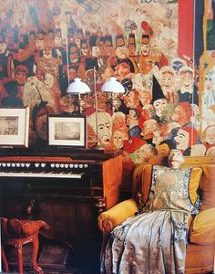 The house of James Ensor (Ostend/ Belgium). When Ensor's death was inaccurately reported in 1942, he attended his own wake. He actually lived until 1949.