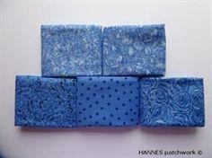 Blå roser patchworkstof 5 stk/FQ - er 5 flotte blå patchworkstoffer, med roser og en med prikker - der passer sammen- og hver m�ler ca 50 x 55 cm = 5 Fat quarter, Køb nu. lav fragt