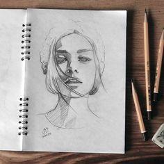 Sketchbook 2016 #face #portrait #sketch #sketching #sketchbook #paper #pencil #draw #drawing #art #pencilsketch #pencildrawing #pencilart #miro_z #arts_help #beautifulbizarre #artcomplex #drawingthesoul #artist_4_shoutout #onyxkawai #artwhisper