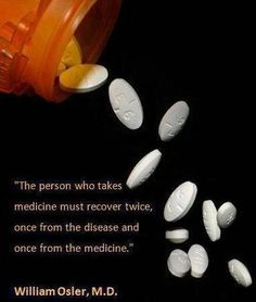 "How true - Big Pharma tells us we're sick then sells us the ""remedy""."