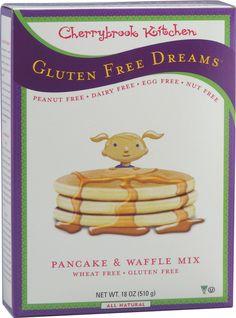 Cherrybrook Kitchen Gluten Free Dreams® Pancake and Waffle Mix -- 18 oz
