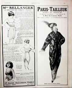 A la Recherche des Modes Perdues et Oubliées: Fémina - Novembre 1913