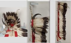 Cheyenne horn trailer bonnet.  NMNH  ac
