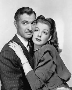 Zachary Scott and Ann Sheridan of The Unfaithful (1947).
