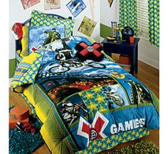 Motocross Comforter Dirt Bike Bedding Motocross Bedding