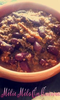 Chili con carne ( avec ou sans thermomix )