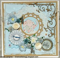 Kristins lille blogg: Babykort