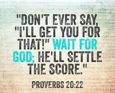 "Proverbs ""Wait for the LORD, and he will avenge you. Positive Bible Verses, Encouraging Bible Verses, Inspirational Bible Quotes, Bible Scriptures, Faith Quotes, Bible Study Guide, Bible Study Tools, Scripture Cards, Prayer Cards"