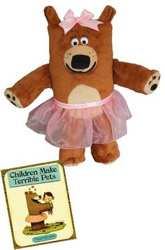Children Make Terrible Pets. Lucille Beatrice Bear Doll