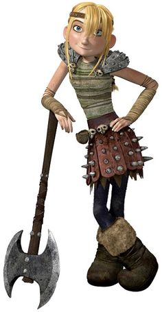 Astrid Hofferson - She's smart, great in combat and good with her dragon, but even better, she's willing to accept new things when no one else will even listen.