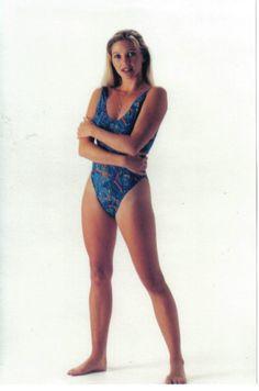 Solar Ladies Tan Through #Swimwear -high leg with low back