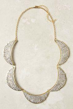 "anthropologie's ""waxing flicker"" necklace"