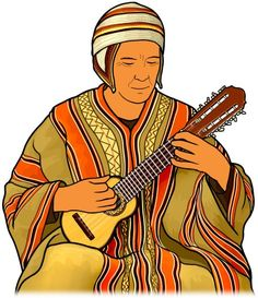 charango player : The charango is a Andean stringed instrument of the lute family.